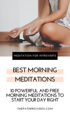 Meditating in the morning has many positive effects on both your body and your mind. Try these 10 powerful and free morning meditations and experience deep and lasting benefits on the rest of your day. Guided Meditation, Mindfulness Meditation, Meditation Scripts, Breathing Meditation, Free Meditation, Morning Meditation, Meditation For Beginners, Meditation Quotes, Chakra Meditation