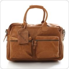 COWBOYSBAG LEDERTASCHE : The Bag Cognac : Vintage Ledertaschen von CowboysBag Onlineshop