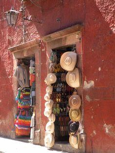 shop in San Miguel de Allende, Guanajuato, Mexico