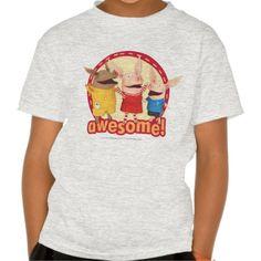 Olivia, Julian, Ian - Awesome! Regalos, Gifts. #camiseta #tshirt