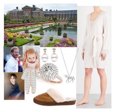 """One Wild Ride-Having Breakfast with Harry and talking about their upcoming anniversary"" by harryandthecambridges ❤ liked on Polyvore featuring Hanro, Allurez, Estella Bartlett, UGG and Royal Baby"