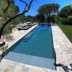 Idée décoration Salle de bain Une piscine pour les sportifs