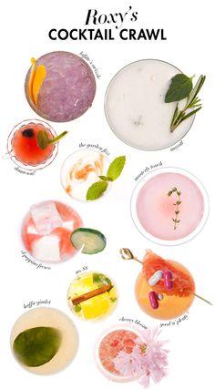 Pretty cocktail ideas