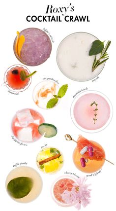 Pretty cocktail ideas