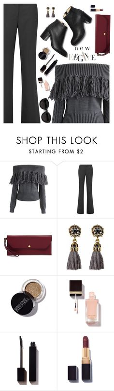"""""""Shimmy Shimmy:  Fringe"""" by juliehooper ❤ liked on Polyvore featuring Chicwish, Boutique Moschino, Henri Bendel, Carla Zampatti, fringe and polyvoreeditorial"""
