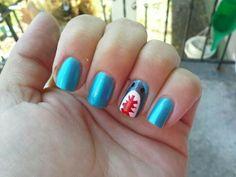 Shark week nails @stacystancati