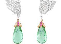 Van Cleef  Arpels Vesna earrings, Ballet Précieux collection