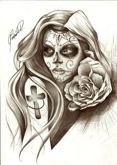 Lady of death by Fernandords.deviantart.com on @deviantART