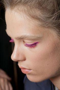 Pink mascara