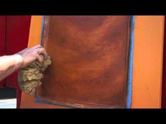 Metal Effects Rust Finish Application Video (short version) by Modern Masters - YouTube