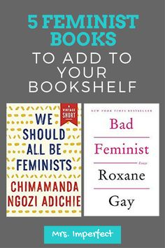 My book recommendations for great reads about feminism. These are feminist powerhouses!