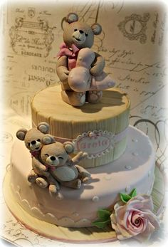 sweets bears - Cake by Sabrina Di Clemente