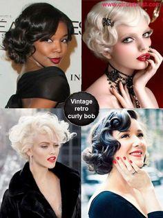 66 Chic Short Bob Hairstyles & Haircuts for Women in 2019 - Hairstyles Trends Stacked Bob Hairstyles, Medium Bob Hairstyles, Short Bob Haircuts, Retro Hairstyles, Hairstyles Haircuts, Hairdos, Hair Styles 2014, Medium Hair Styles, Curly Hair Styles