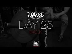 #RELPURPOSE | DAY 25 | BACK - Run Everything Labs