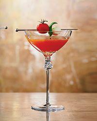 hmmmm, I rather enjoy a good Bloody Mary, wonder if I would like this cocktail???? Caprese Daiquiri Recipe on Food & Wine