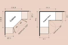 cabina armadio camera piccola quadrata - Cerca con Google