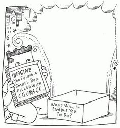 A Small Box of Courage - Make Beliefs Comix