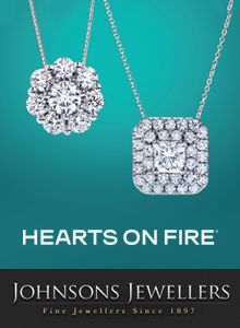 Hearts On Fire available at Johnsons Jewellers http://www.johnsonsjewellers.co.uk/