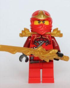 Amazon.com: LEGO Ninjago - Kai ZX with Armor and Dragon Sword: Toys & Games