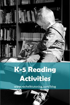 K-5 Reading Activities | Rachel K Tutoring Blog
