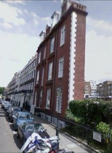 From the exceptionally fat (above) to the exceptionally thin -Thurloe Square in Kensington London showcases what is most certainly the thinnest house in Britain. So much so that even a local bobby is astonished at this feat of architecture.