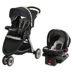 Jogger Travel System Stroller. Perfectly gender neutral for our girls and boys:)