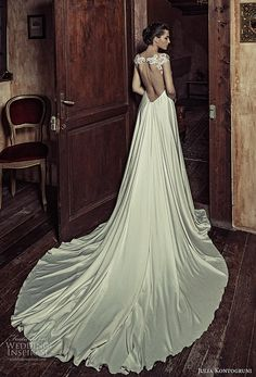 julia kontogruni 2017 bridal cap sleeves sweetheart neckline heavily embellished bodice satin skirt romantic pretty a  line wedding dress kehyole back long train (18) bv