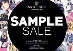 Nickelson sample sale -- Breda -- 24/10-25/10