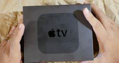 Ver Primer unboxing de una Apple TV 4