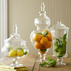Decorating With Apothecary Jars - Driven by Decor