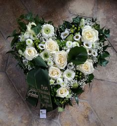 Funeral Floral Arrangements, Funeral Flowers, Floral Wreath, Wreaths, Winter, Decor, Flower Arrangements, Funeral Flower Arrangements, All Saints Day