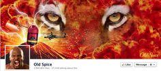 Old Spice Facebook Cover Inspiration #brandkitchen #inspiration #socialmedia #facebook
