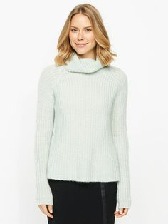 Image for Chunky Mohairroll Neck from Portmans Work Tops, Casual Tops, Knitwear, Turtle Neck, My Style, Sweaters, Shirts, Stuff To Buy, Tricot