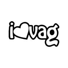 I Love VAG Volkswagen, Company Logo, Love, Amor