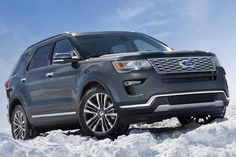 The photo is Couresty of Ford Media. The all-new 2019 Ford Explorer can be found at Planet Ford in Spring, Texas. 2019 Ford Explorer, Best New Cars, First Time Driver, Classic Car Insurance, Car Girls, Girl Car, Ford Expedition, Ford Gt, Used Cars
