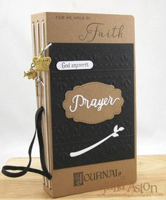 HeArtfelt Journals:  Eileen Hull Sizzix Prayer Journal by Julia Aston