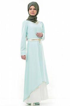 Tesettür Elbise Modelleri - HANIMODA