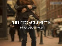 A bucket-list and a place for all of us in long distance relationships to share our wants and dreams.