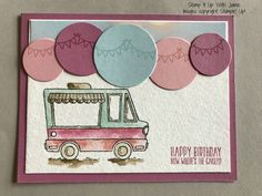 This week's Happy Stampers Blog Hop is a sketch challenge. For the layout, I decided to flip the sketch on its side.  I used Sweet Sugarplum cardstock as my base and layered it with some Wate…