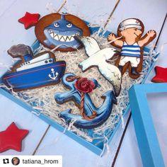 Наборы ко дню ВМФ #подарокнаденьвмф #деньвмф #пряникиназаказ #пряникиназаказмосква #неслучайноепеченье