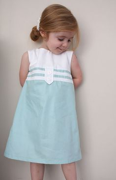 sweet a-line dress tutorial. if i start now, maybe it will be finished by the time i have a girl.