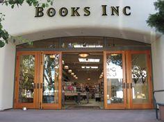 Books Inc in Berkeley, CA