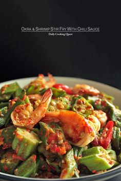 I love okra and I love shrimp, so combining the two in a quick stir fry with fiery chili sauce is a no brainer. And this being a stir fry, be extra sure to do your mise en place properly. The cooking needs to be done real quick, like in …