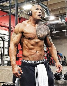 The Rock's 5,165 calorie daily diet contains 10 pounds of food | Daily Mail Online