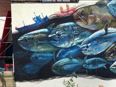 Nooshi Overfishing - gaiastreetart.com