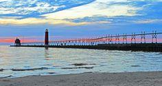 Grand Haven Pier, Michigan
