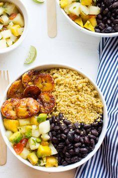 Cuban Quinoa Bowls w