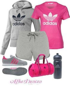 Cute Gym Workout Outfit!