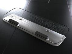 Wireless Glass Multi-Touch Keyboard