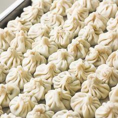 CHICKEN AND SHRIMP DUMPLINGS Easy to make chicken and shrimp dumpings can be steamed boiled or fried and served with a side of soy sauce for dipping  aheadofthymecom  recipe link in bio aheadofthyme